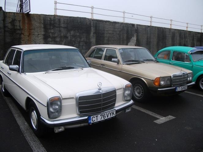 Mercedes 230 W114 & Mercedes 200D W123