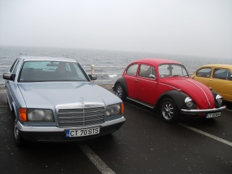 Mercedes 280SE W126 & Volkswagen Kaffer 1302