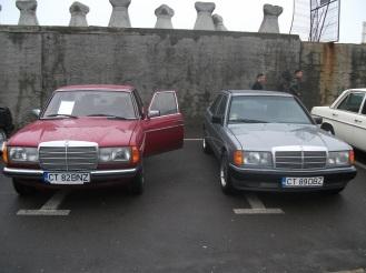 Mercedes 300D & Mercedes 190 2.0 W201