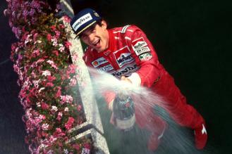 Ayrton Senna castigator in Grand Prix-ul Belgiei 1991