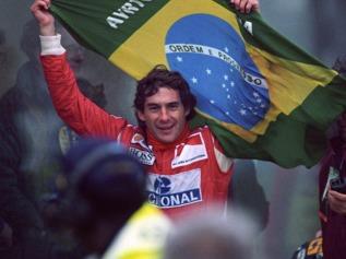 Ayrton Senna castigator in Grand Prix-ul Braziliei