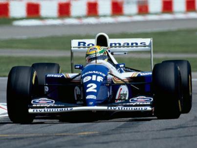 Ayrton Senna cu Williams Renault in Grand Prix-ul San Marino 1994