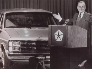 Lee Iacocca - lansare concept K-Car