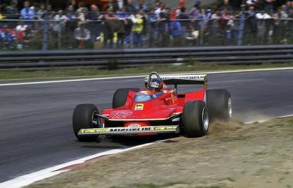 Gilles Villeneuve în GP al Italiei în 1979