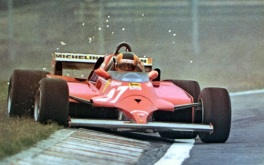 Gilles Villeneuve în GP Canadei în 1981