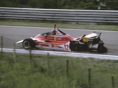 Gilles Villeneuve în GP al Olandei în 1979