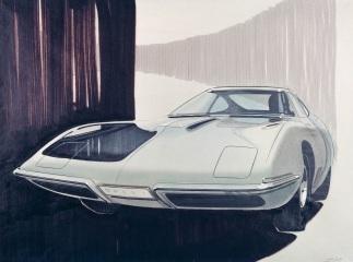 Prima schiță Opel Experimental GT