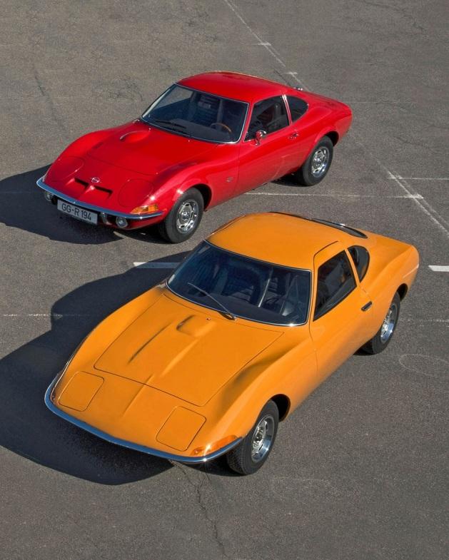 Opel Experimental GT 1965 & Opel GT 1968