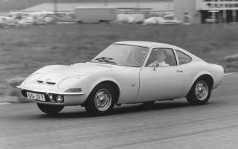 Opel GT la testele finale