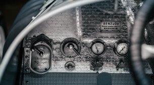 Instrumente de bord Blitzer Benz