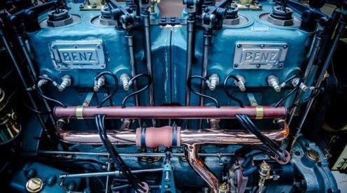 Motorul de 2.1L aflat în dotarea Biltzen Benz