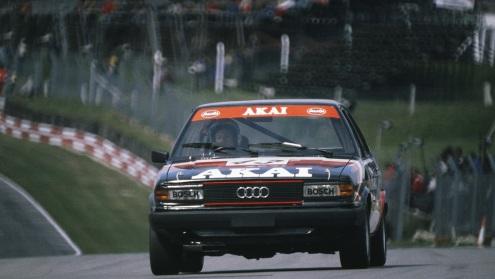 În British Saloon Car Championship cu Audi 80 în 1980