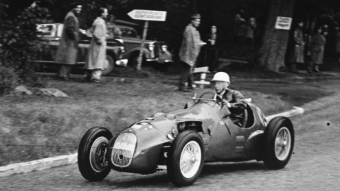 Cu HWM in cursa de debut in Formula 1 in Grand Prixul Elveței 1951