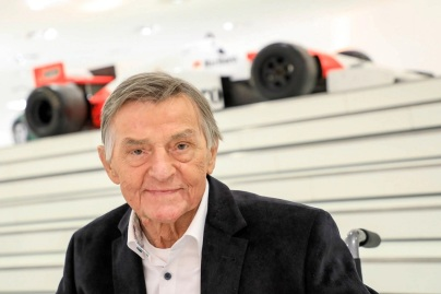 Hans Mezger la Muzeul Porsche