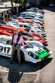 Hans Mezger & Porsche 917