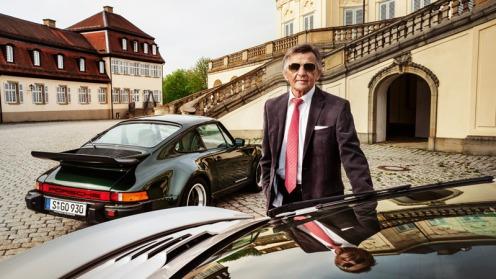 Hans Mezger & Porsche 911 Turbo