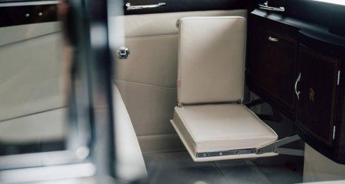 Interior Rolls-Royce Phantom V