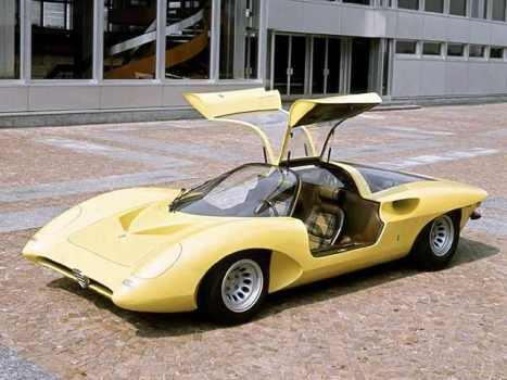 Alfa Romeo P33 Coupe 1969
