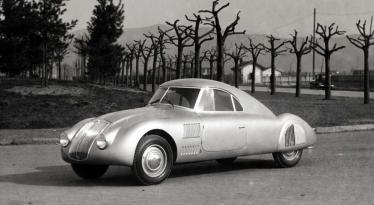 Lancia Aprilia Aerodinamica 1937