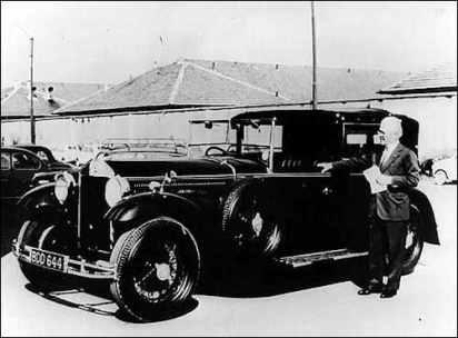 Lancia Dilambda Pininfarina 1930