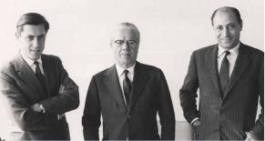 Sergio & Battista Pininfarina & Renzo Carli