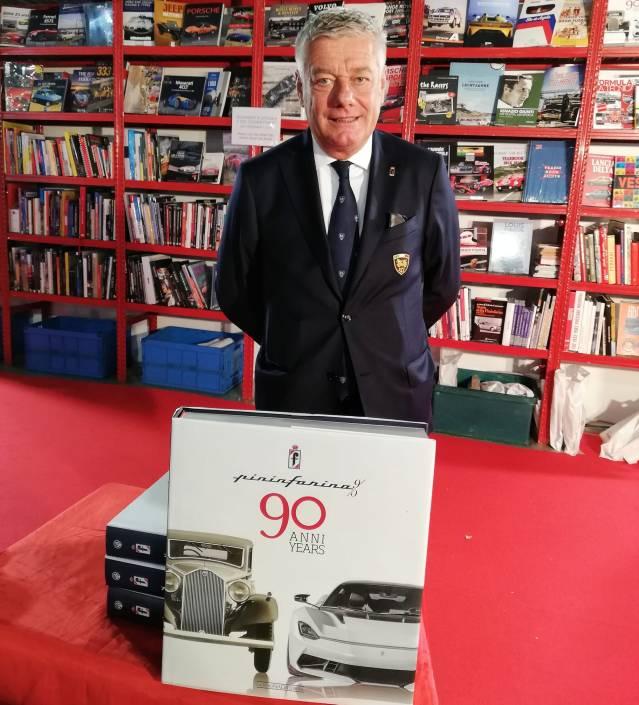 Paolo Pininfarina lanseaza cartea Pininfarina 90 Anni la Salonul Milano AutoClassica 2020