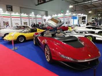 Stand Pininfarina la Salonul Milano AutoClassica 2020