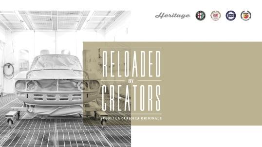 FCA Heritage -programul Reloaded by creators