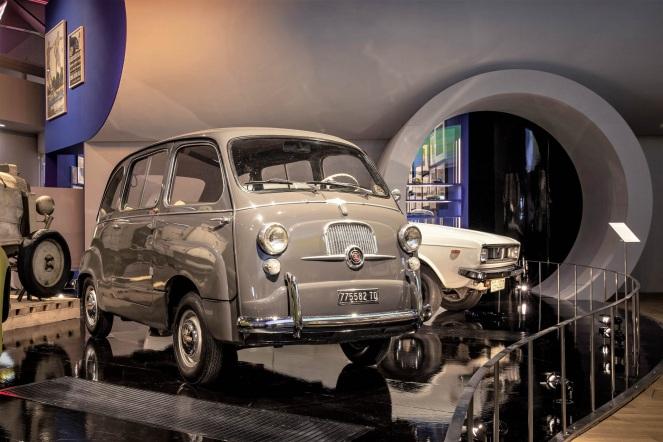 Fiat 600 Multipla Victoria&Albert Museum London 2019