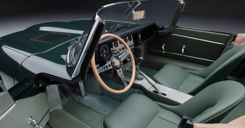 Interior Jaguar E-Type 60 Collection Roadster